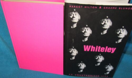 1 of 1 - Brett WHITELEY unauthorised Life ~ Margot Hilton & Graeme Blundell HbDj in MELB!