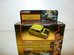 CORGI-TOYS-CLASSICS-96011-MR-BEAN-039-S-MINI-GREEN-1-36-UNUSED-COND-IN-BOX