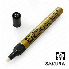 Sakura Pen Touch Calligrapher Medium 5mm Paint Marker Pen Calligraphy Card Paper