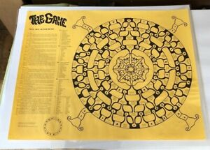 Rare 1967 Turn On Tune In LSD Acid Game Dwight Bulkley Timothy Leary Ken Kesey