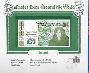 World Banknotes Ireland 10-07-1984 1 pound UNC P 70c UNC Low DKI 003029