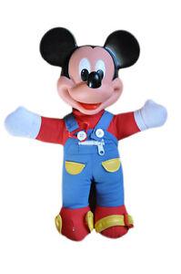 Collector doudou eveil Mickey 36 cm marque Disney BE