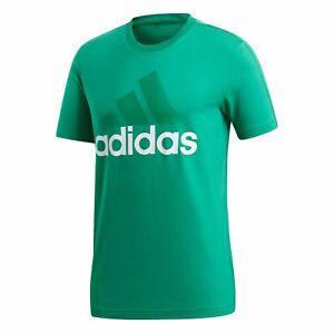Details zu adidas Herren Essentials Linear Tee T Shirt CE1928 Bright Green