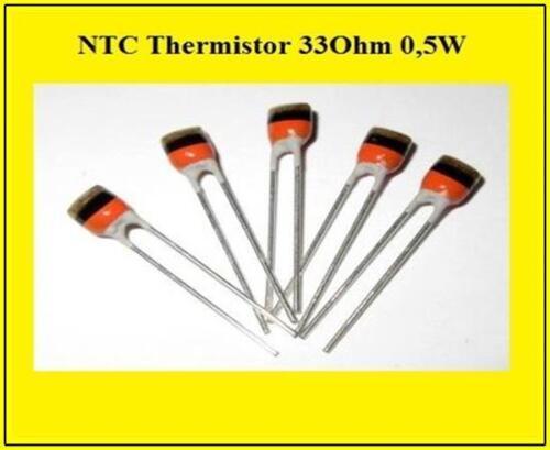 NTC Fühler Heizung Thermistor Temperatur Sensor 33R 0,5W 33Ohm 5 Stück