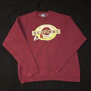 e10d5241 Details about Vintage Pro Player Washington Redskins Crewneck Sweatshirt  Mens XL RARE