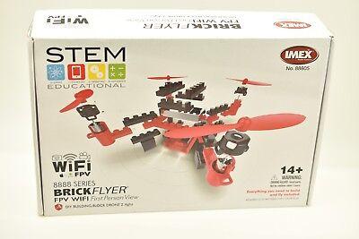 88805 Imax Drone Brickflyer Fpv Wi-fi Frist Persona Vista: Rosso, Giallo, Blu,