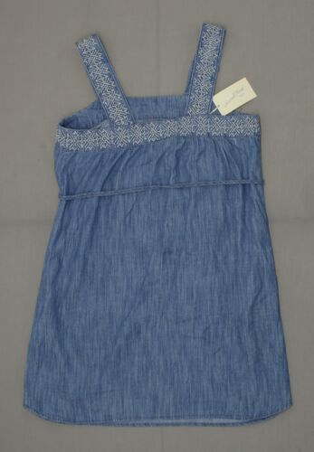 NWT Universal Thread™ Women/'s Embroidered Denim Sheath Sundress Sun Dress