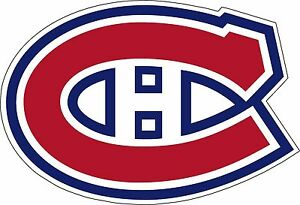 "Montreal Canadiens Large NHL Hockey sticker 12.5""x 8.5"""