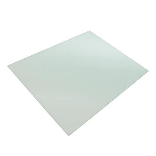 Packung mit 6 500 x 400 mm Weiß Anti-Rutsch-Glas Sets // Ladegerät Mats