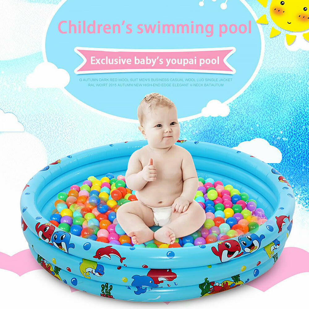 Family Mini Swimming Pools Children Kids Inflatable Garden Round Paddling VI UK