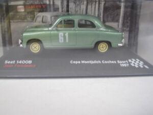 Seat-Sport-1400-B-Juan-Fernandez-Montjuic-1957-Fiat-IXO-1-43-cochesaescala
