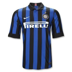best loved 2a872 7df6b Details about NIKE INTER MILAN HOME JERSEY 2011/12.