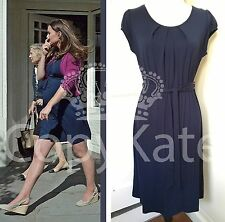 RARE SOLD OUT ASOS MATERNITY NAVY BLUE MATTE JERSEY DRESS ASO UK 14 US 10 BNWT