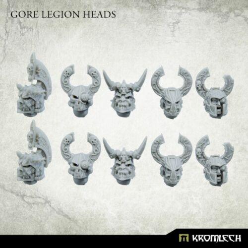 10 Kromlech Gore Legión Cabezas Nuevo KRCB 245