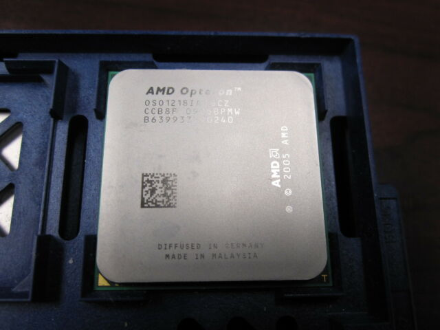 AMD Opteron 1218 HE OSO1218IAA6CZ 2.6GHz 2MB Server Processor AM2 Socket OS1218