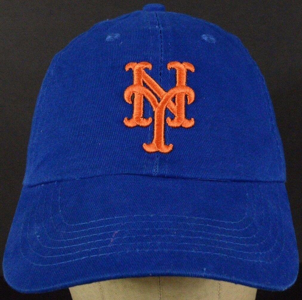 NY New Blue York Giants Blue New Baseball Hat Cap with Cloth Strap Adjust 3e1f9b