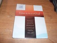 Live The Word Of God By Living Christian (cd-rom, 2007) Bible Study