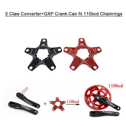 GXP 104bcd//110bcd 170mm Crank MTB Bike Crankset Chainring Chainset Direct Mount