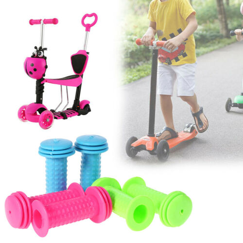 1 Pair Bicycle Grips Children Bike Tricycle Scooter Anti Slip Handlebar Rubber