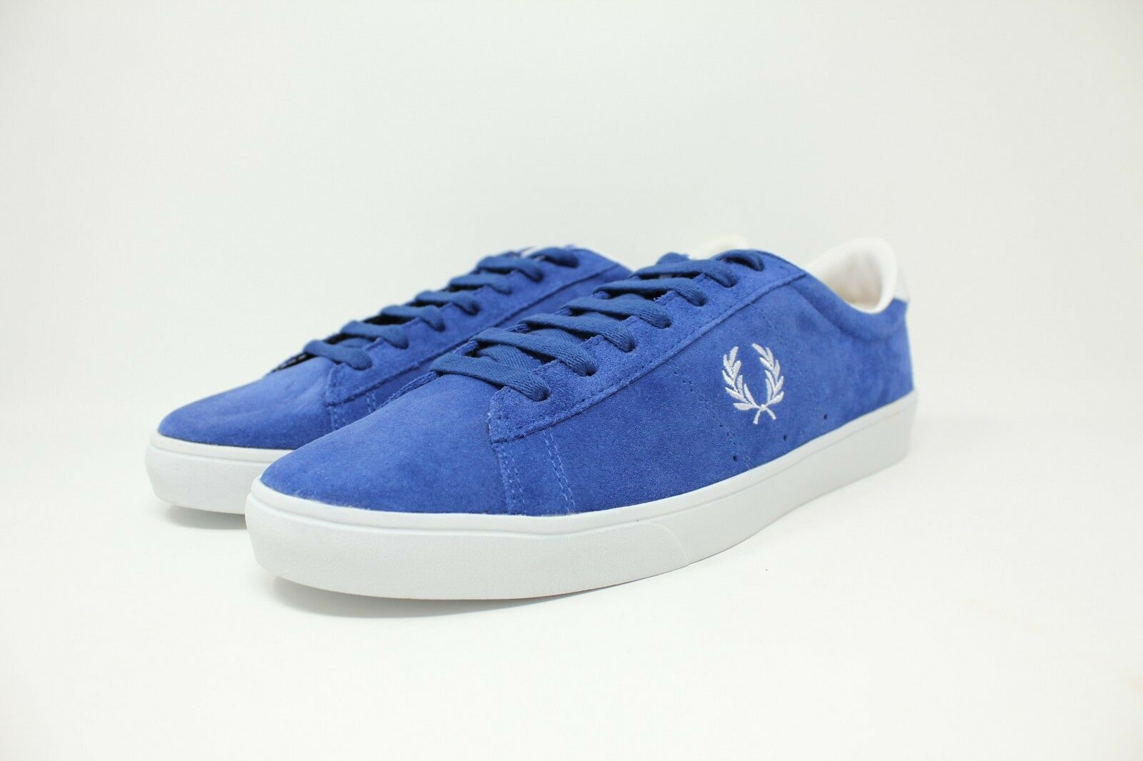Fred Perry Spencer Suede B5206 955 Casual Sneaker Royal Men SZ 10.5 50% OFF