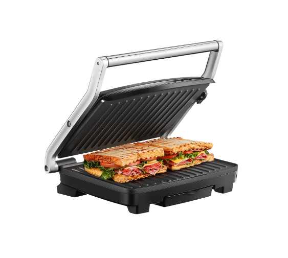 Panini Press Grill Breville BSG520XL Duo 1500-Watt Nonstick,