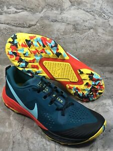 Nike-Air-Zoom-Terra-Kiger-5-Trail-Running-Shoes-AQ2219-302-Men-039-s-Size-9-NEW