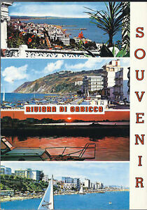 RIVIERA DI GABICCE - SOUVENIR - 4 VEDUTE - V1975 - Italia - RIVIERA DI GABICCE - SOUVENIR - 4 VEDUTE - V1975 - Italia