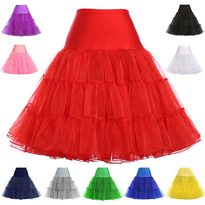 Vintage 50's Petticoat Mini Underskirt Swing Full Circle Dress Skirts