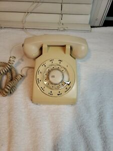 Vintage 1978 Bell System Western Electric Louisiana Rotary Desk Telephone Black Movie Prop 1970/'s Show