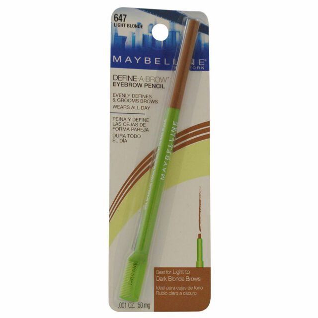 Maybelline Define-A-Brow Eyebrow Pencil Light Blonde / 647