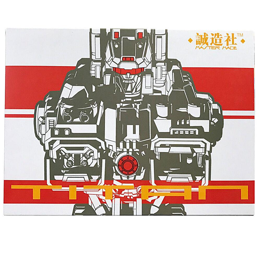 Transformers MASTER fatto SD concifrazione progetto STATUE ST03 TITAN autobusto