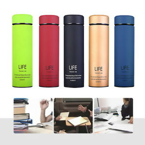 Coffee-Travel-Mug-Tea-Stainless-Steel-Vacuum-Flask-Water-Bottle-Cup-17oz-Thermos