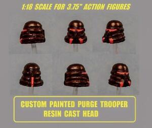 Details about custom Star Wars PURGE TROOPER PAINTED RESIN CAST HEAD jedi  fallen order clone