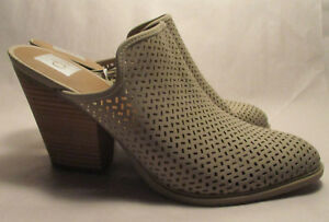 9eee490e231f New DV Dolce Vita Kenli for Target Womens sz 11 Pierced Taupe Mule ...