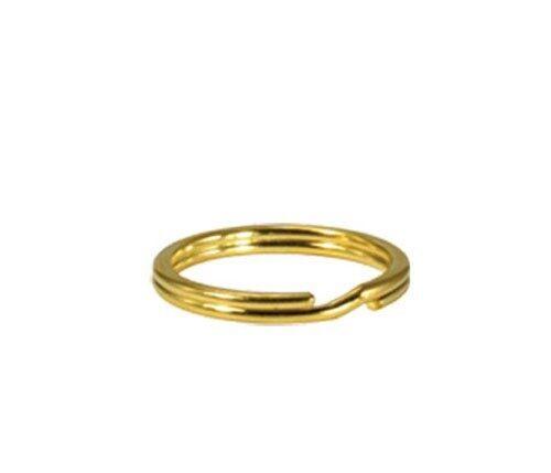 Lead Free Jewelry Finding Open Jump Double Split Rings Gold//Silver Multi-Sizes