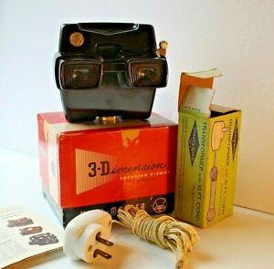 View-Master Model D Focusing Lighted Viewer Original Box Transformer Excellent