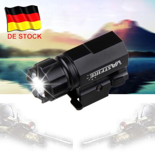 2000LM R5 LED Pistole Taschenlampe Jagd Licht Gewehr Picatinny Schiene Montieren