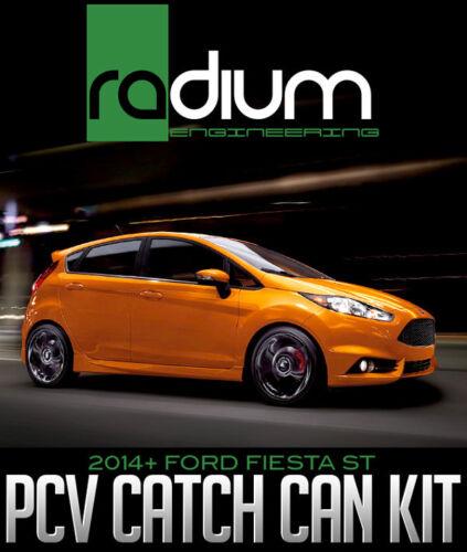 Ford Fiesta ST RADIUM ENGINEERING PCV Catch Can Kit 20-0377 2014