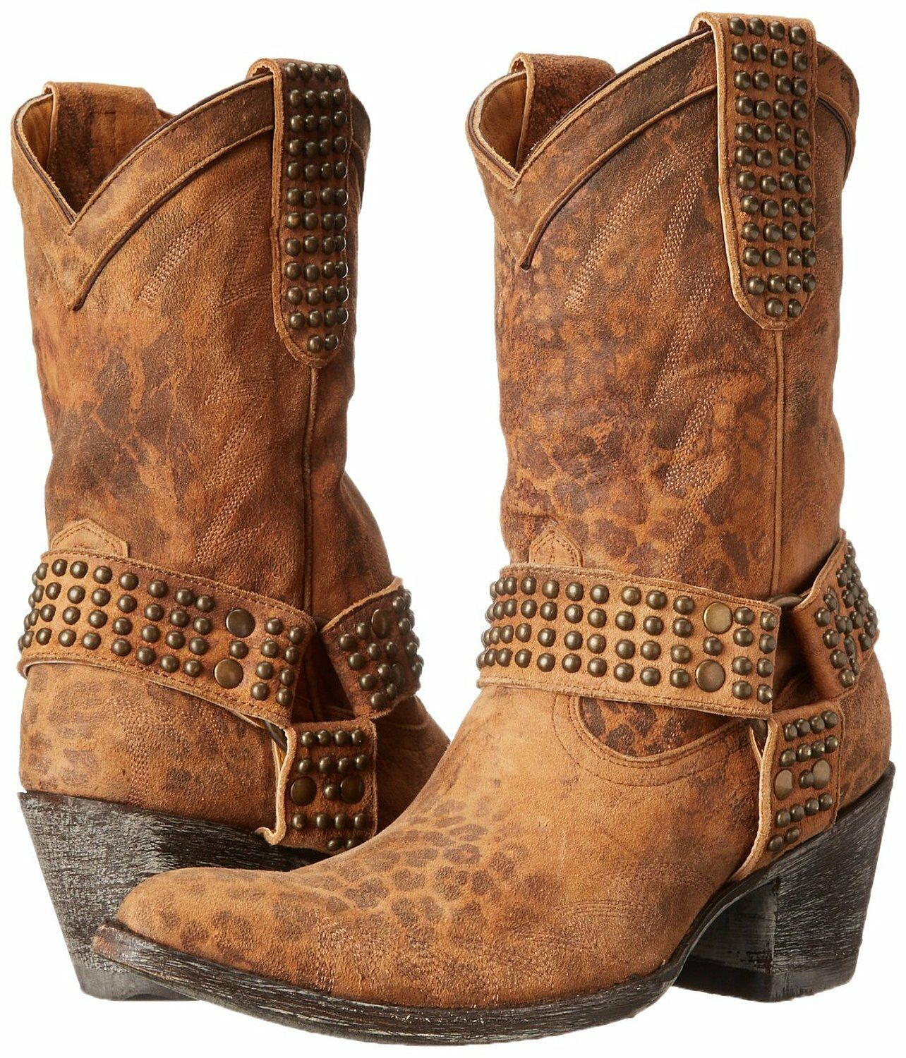 NEW in Box Old Gringo Women's Cowgirl Western Boot Ochre L2001-4 Size 7 $ 600!
