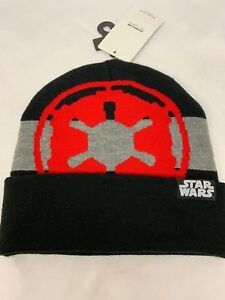 5eb4c4ac3deba low price image is loading star wars disney galactic empire intarsia knit  beanie 5b949 9e9f5