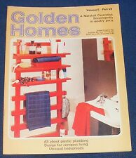 GOLDEN HOMES MAGAZINE #59 - HOME FABRICS - BEDSPREADS WITH A DIFFERENCE
