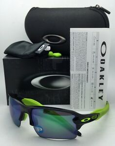 062961ace3 Polarized OAKLEY Sunglasses FLAK 2.0 XL OO9188-09 Black Ink Frame w ...