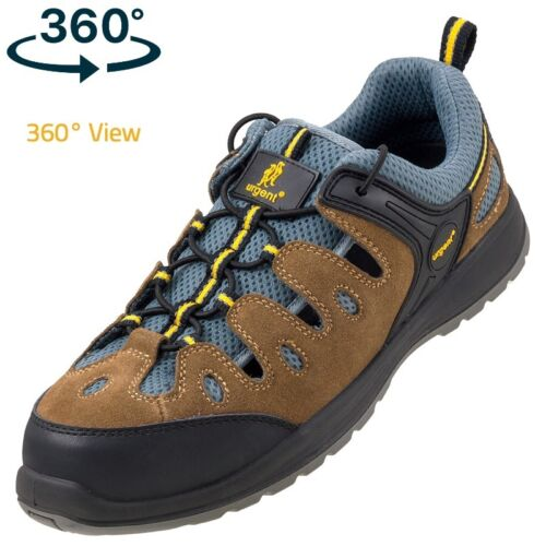 SAFETY SANDAL TRAINERS SHOES BOOTS HIKER WORK STEEL TOE CAP 312 S1 SIZE 3-12 NEW