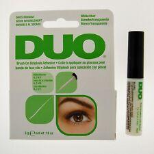 "1 DUO Brush On Striplash Adhesive - ""White/Clear"" / Free Shipping to US"