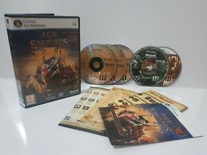 Age-of-Empires-3-III-Complete-Collection-PC-Region-Free-Complete-Rare-NJ2