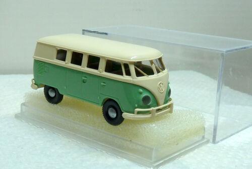 4134-701 Brekina VW T1 Bus türkis//weiß top OVP