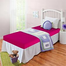 """Zinus Sleep Master Memory Foam 5"""" Bunk Bed-Trundle Bed-Day Bed Mattress - Pink"""