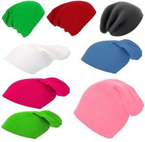 Bonnet-Hiver-enfants-filles-garcon-garcons-Chapeaux-tricotes-bouffant-ver-SPORT