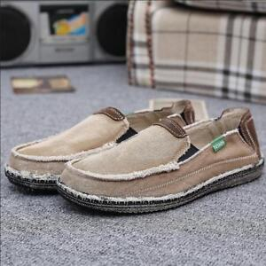 mens casual shoes slip on loafers denim jeans driving