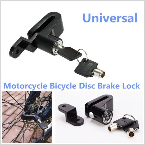 Motorcycle Bike Anti-theft Security Brake Disc Wheel Rotor Lock with 2 Keys Kit